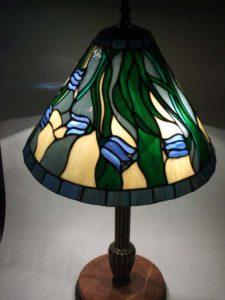 Tiffany lámpa, készítette a Rozettastúdió